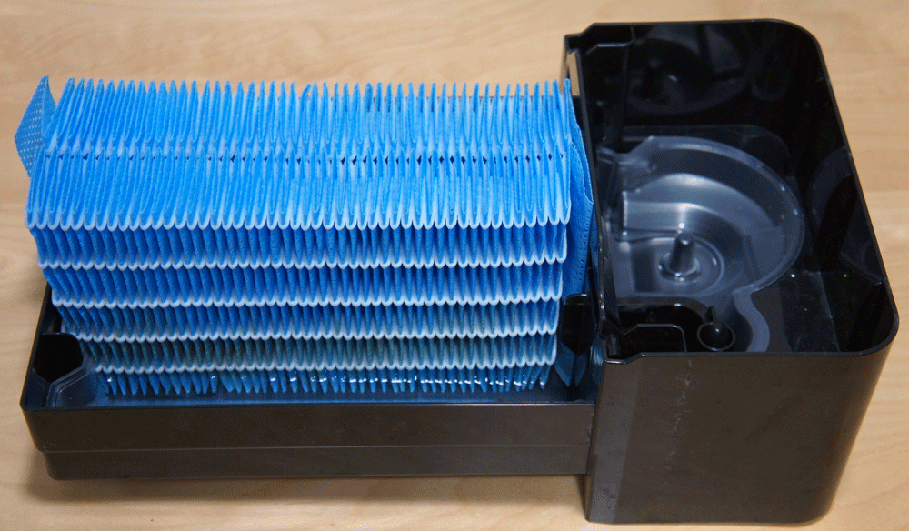 HD-LX1219 フィルタ交換