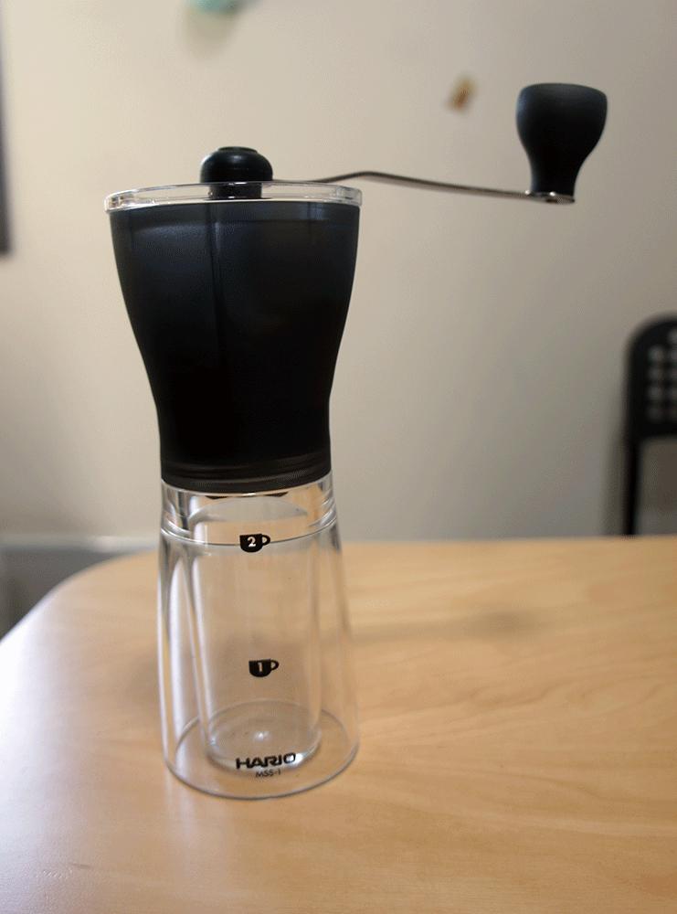 手挽き コーヒーミル ・ セラミック スリム MSS-1TB