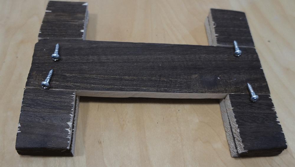 木版の組み立て