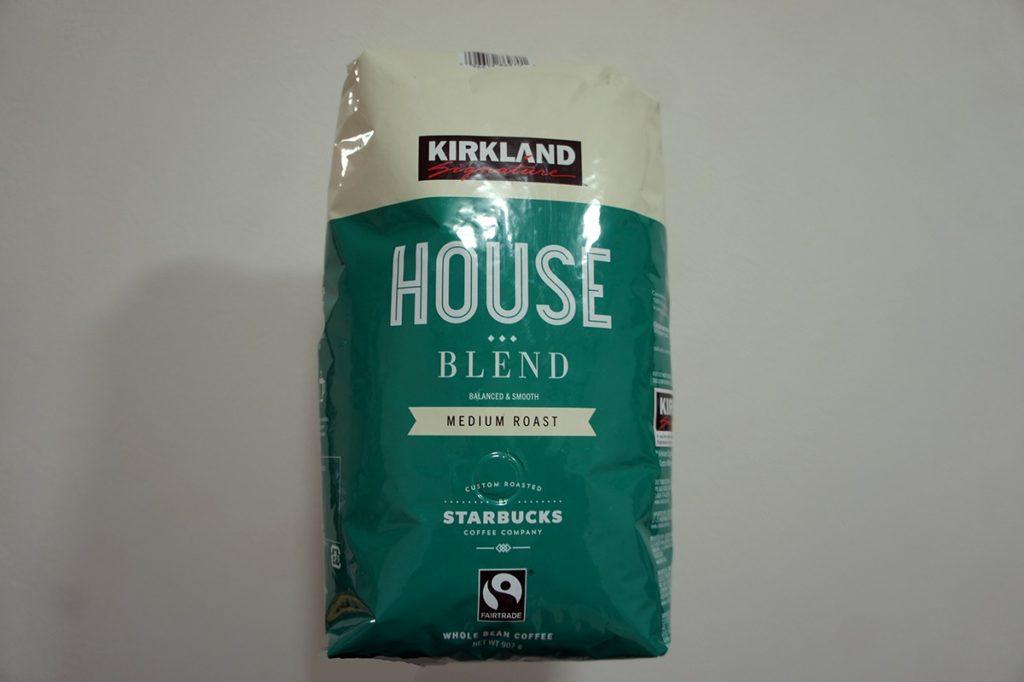 KIRKLAND SIGNATURE スターバックスロースト ハウスブレンドコーヒー