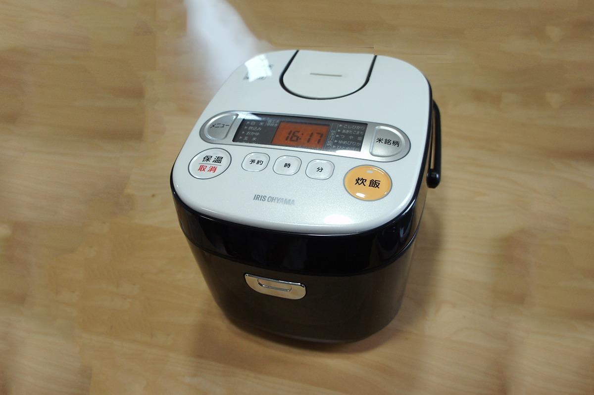 アイリスオーヤマの炊飯器のボタンの故障を直す方法