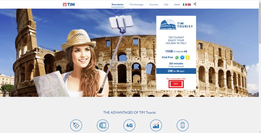 TIM TOURIST TOP PAGE