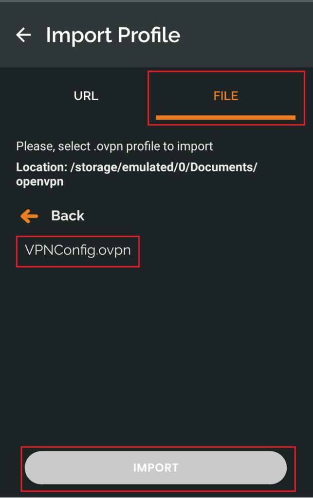 Synology OpenVPNクライアント 設定方法2