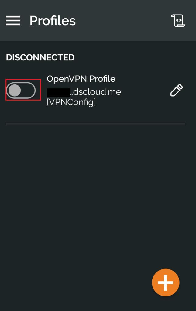 Synology OpenVPNクライアント 設定方法3