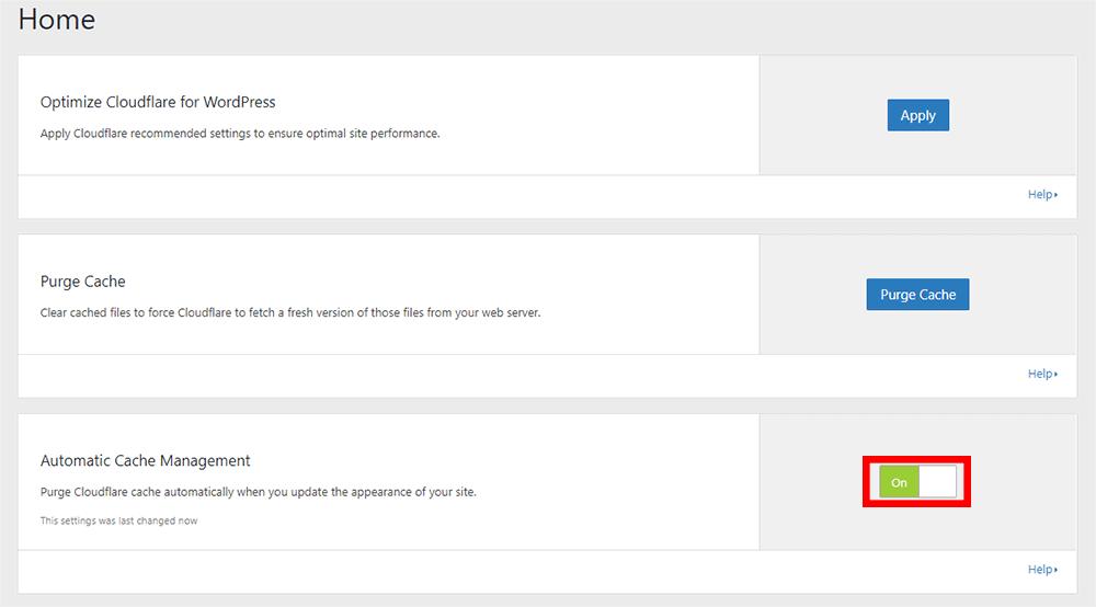 Cloudflare プラグイン 設定方法