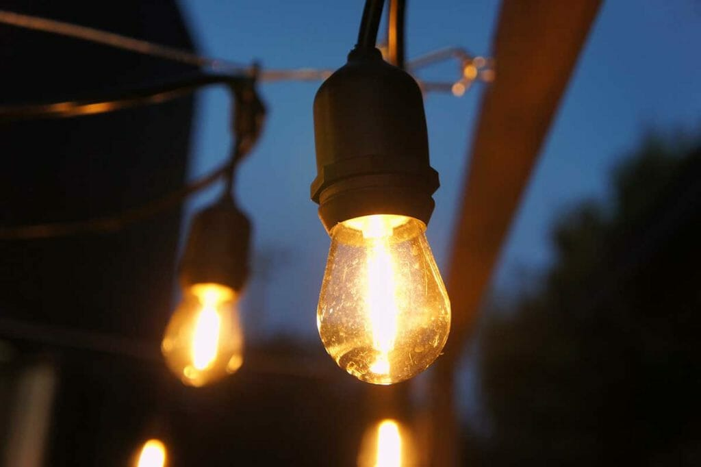FEIT LEDストリングライト 14.6m 24球 屋内/屋外用