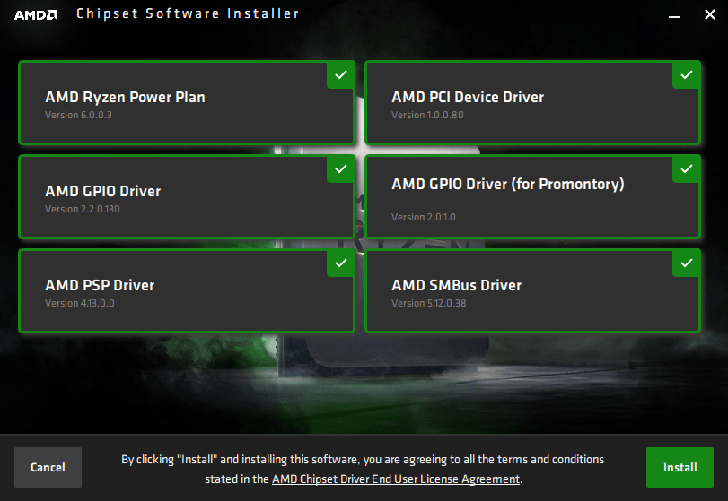 AMD Chipset Software Installer
