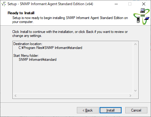 SNMP Informant Install 5