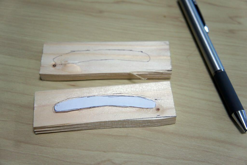 木材への線引き