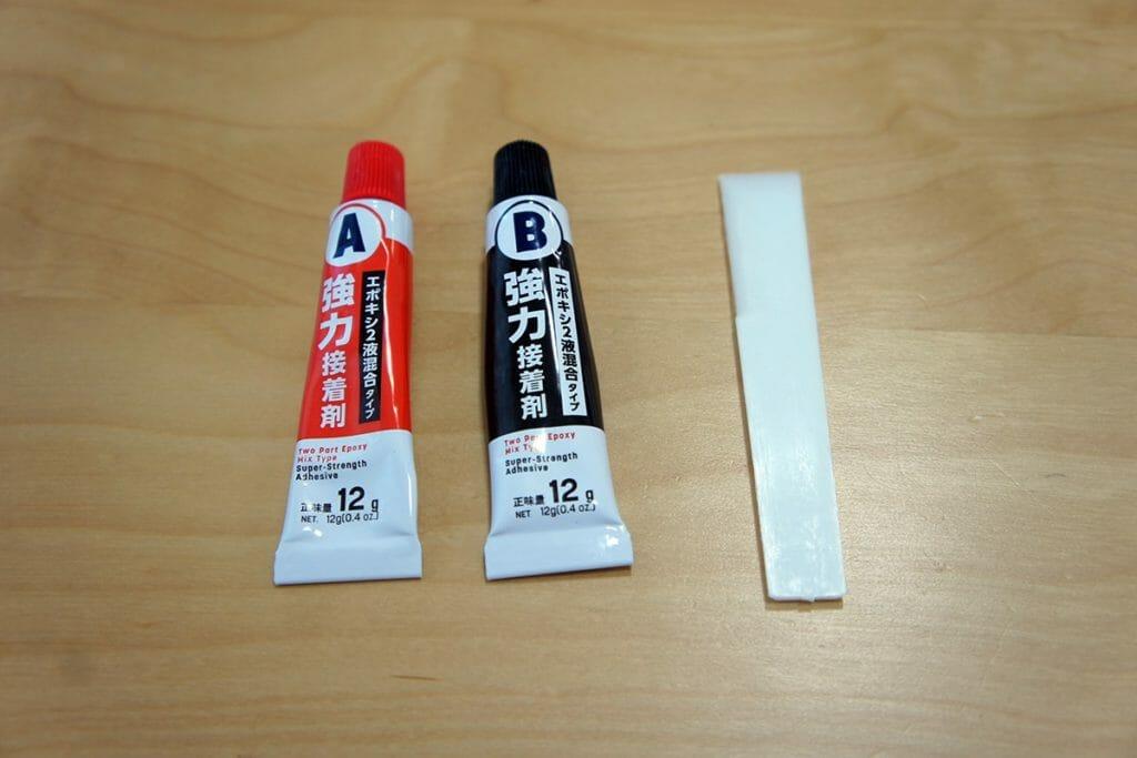 ダイソー エポキシ2液混合タイプ 強力接着剤