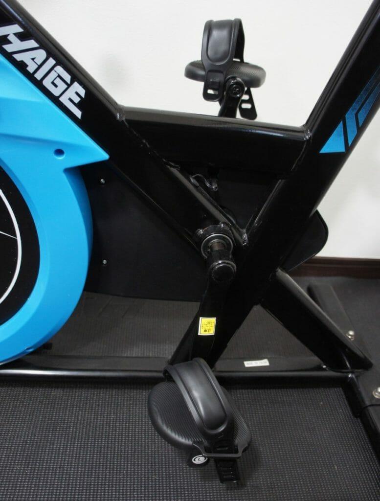 CoiTekのエアロバイク用ペダルに交換