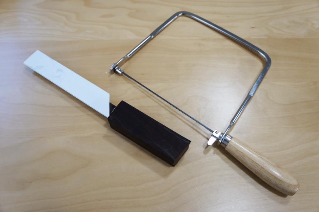 プーッコナイフ 糸鋸用の罫書