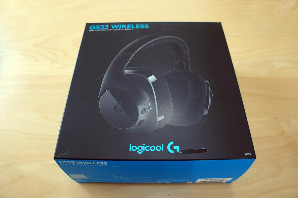 Logicool G533 外観