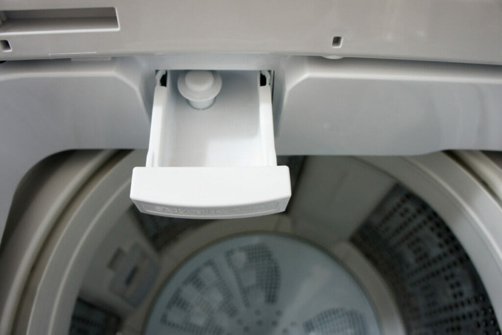 日立 BW-V 柔軟剤の投入口
