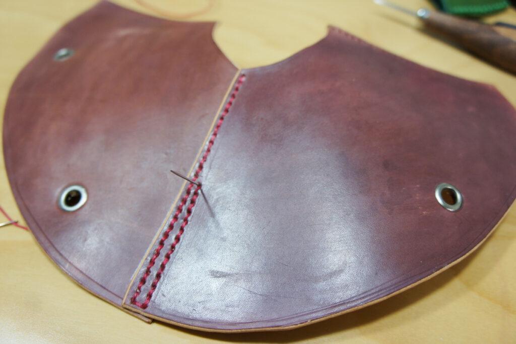 タープ連結アダプター手縫い1