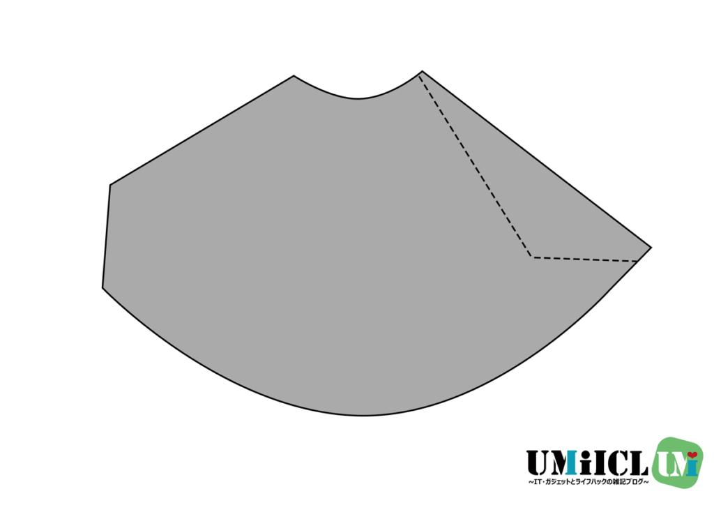 タープ連結アダプター型紙