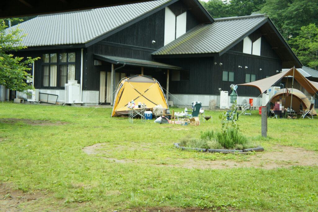 つくばねオートキャンプ場 フリーサイト