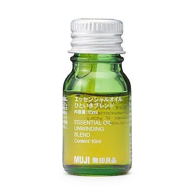 エッセンシャルオイル・ひといきブレンド 10ml | エッセンシャルオイル 通販 | 無印良品